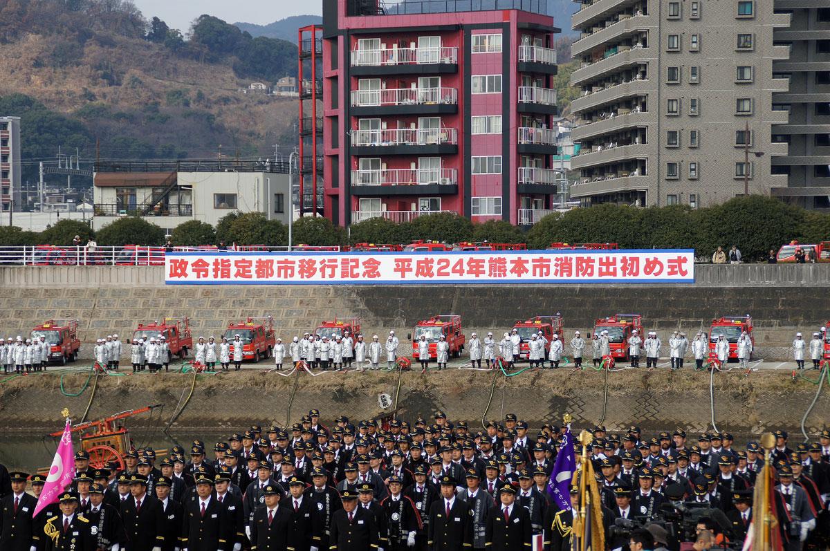 熊本消防出初式。_b0044115_18103517.jpg