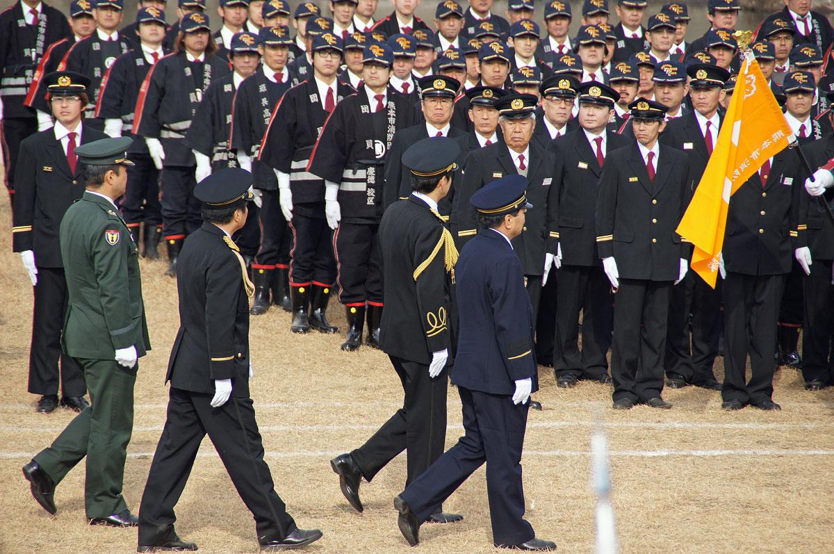 熊本消防出初式。_b0044115_1813391.jpg