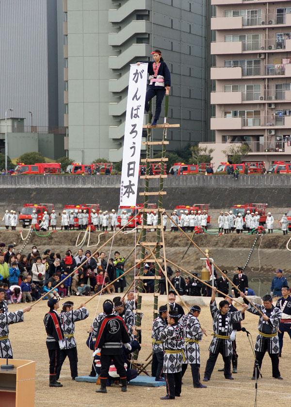 熊本消防出初式。_b0044115_18214493.jpg