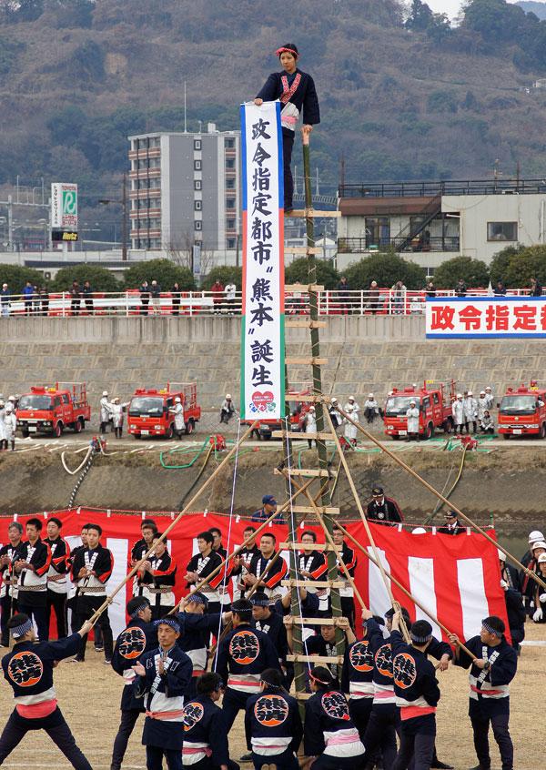 熊本消防出初式。_b0044115_18225742.jpg