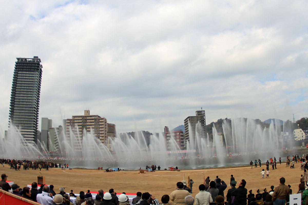 熊本消防出初式。_b0044115_18273222.jpg