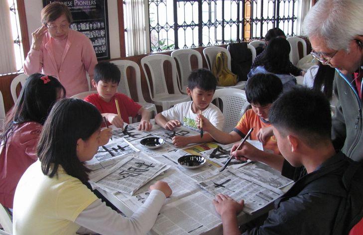 書初め大会 New Year Calligraphy writing 2012_a0109542_11341354.jpg