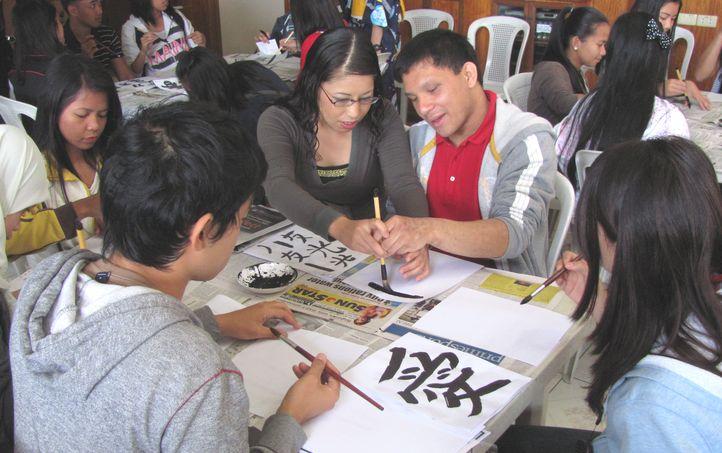 書初め大会 New Year Calligraphy writing 2012_a0109542_113458100.jpg