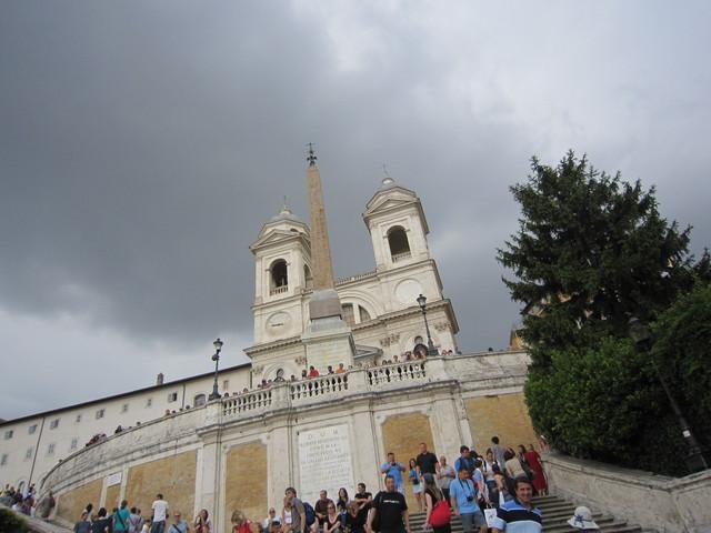 8.サンタ・トリニタ・ディ・モンティ教会(スペイン広場)_e0233674_1815302.jpg