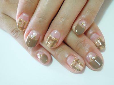 Pickup Nail〜Beige_a0239065_20261421.jpg