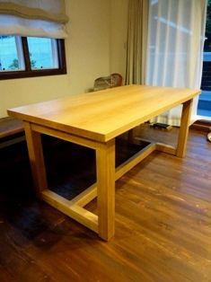 オークのテーブル 2_c0130172_1562069.jpg