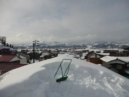 南魚沼市で雪下ろし_a0128408_17492857.jpg