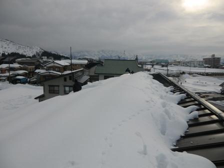 南魚沼市で雪下ろし_a0128408_17495557.jpg
