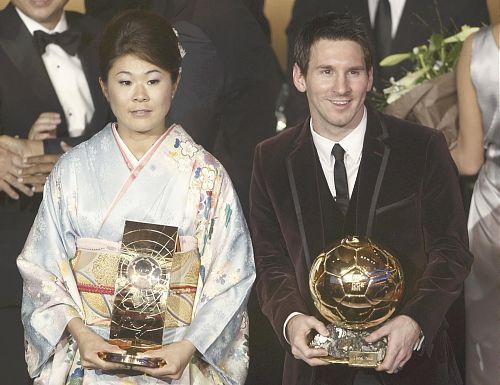 "A Happy New Ballon Dor FIFA!:澤穂希選手、世界の""誉れ""に!_e0171614_1245384.jpg"