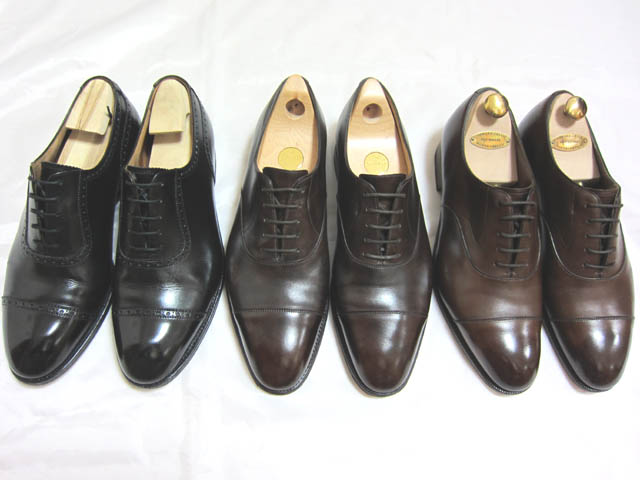John Lobb ジョンロブとEdward Green エドワードグリーンの靴磨き