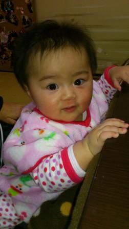 赤ちゃんの顔の変化を観察する_f0138645_881117.jpg