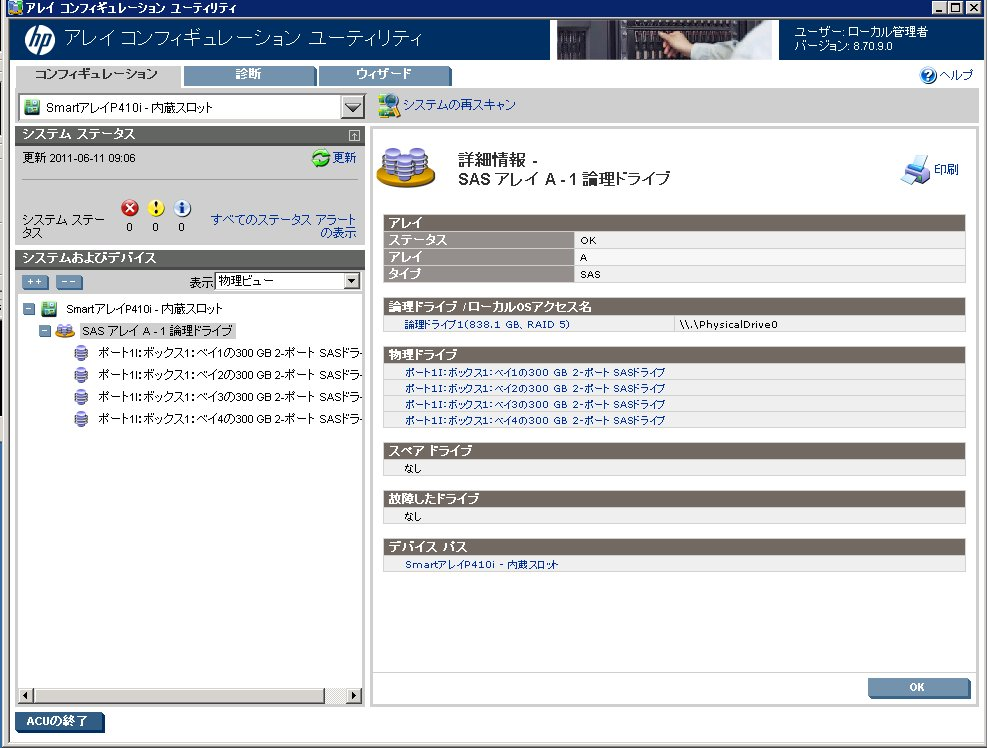 HP ProLiant GL360 G7のベンチマーク_e0091163_023365.jpg