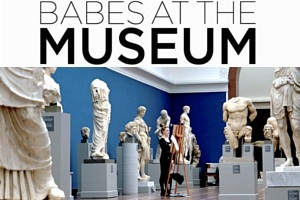 NYの美術館には可愛い女の子が多いので・・・ Babes At The Museum_b0007805_0261457.jpg