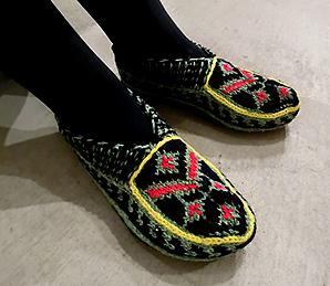 マースレーの手編み靴下_d0193211_19263546.jpg