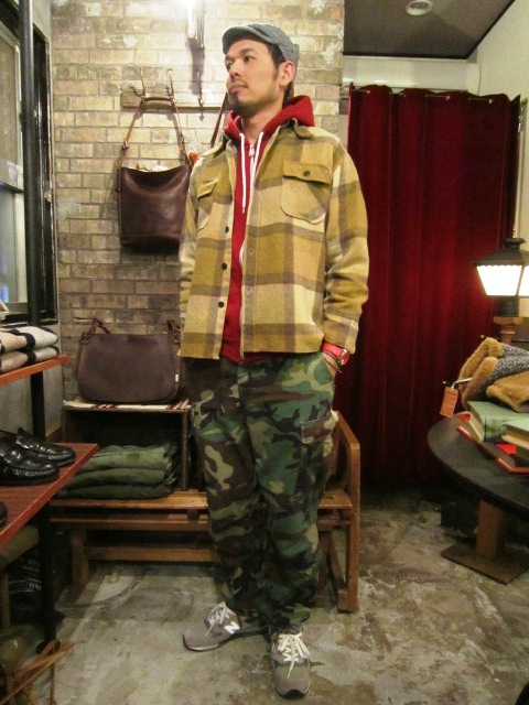 "Used ""WOOL JACKET & MOUNTAIN PARKA\"" ご紹介_f0191324_11353554.jpg"