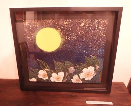個展「花 栗原永輔日本画展」(Flower-Eisuke Kurihara Japanese painting exhibition.)_e0224057_2184848.jpg
