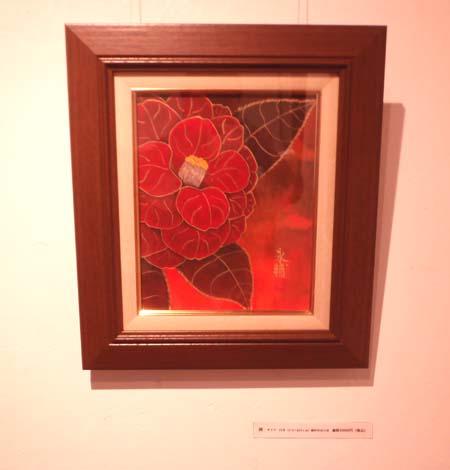個展「花 栗原永輔日本画展」(Flower-Eisuke Kurihara Japanese painting exhibition.)_e0224057_219696.jpg