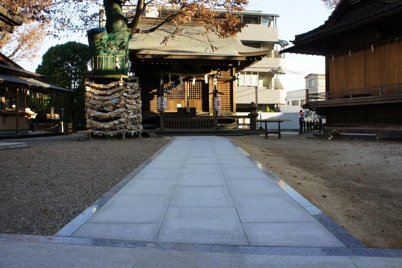 秋葉神社 参道改修工事  2011.12.24_e0223769_16321227.jpg