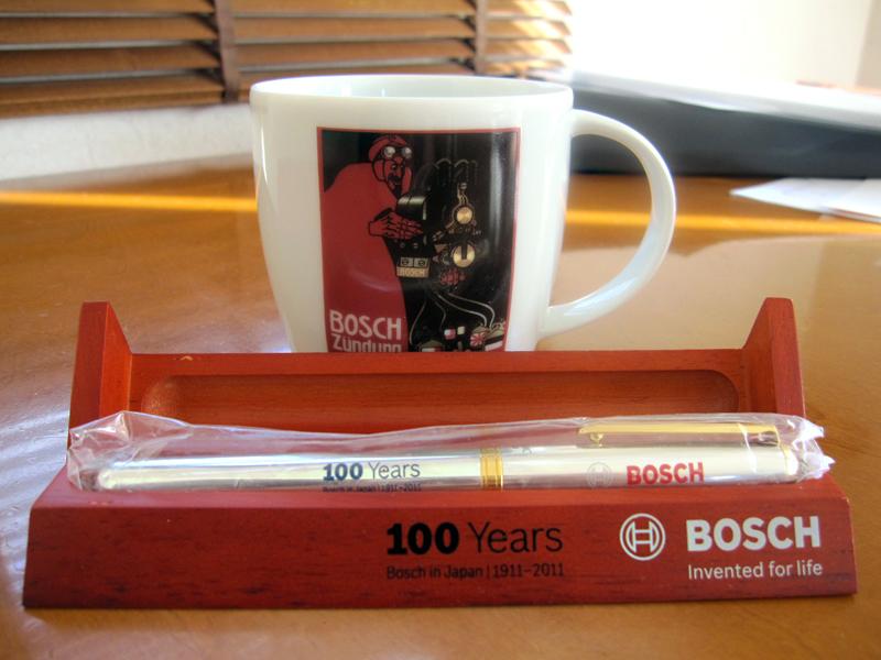 Bosch in Japan 100周年グッズ^^_f0119369_1210229.jpg