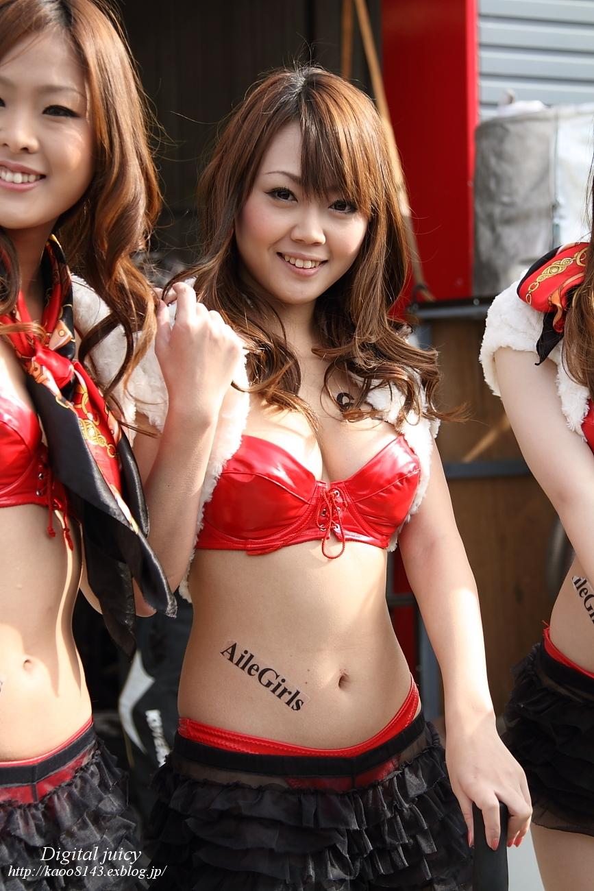 大浦麻美 さん(ホンダカーズ東京with G/MOTION 「Aile Girls」)_c0216181_237233.jpg
