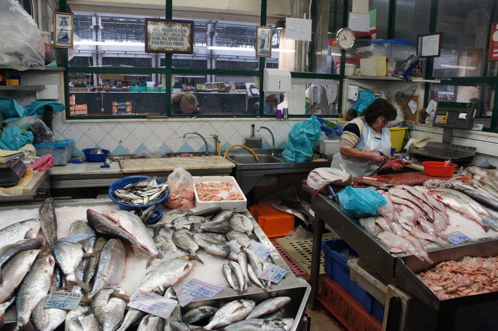 リスボンの魚市場!_c0180686_1830164.jpg