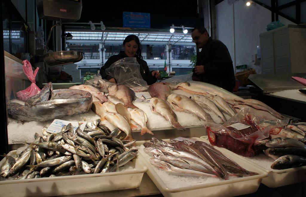 リスボンの魚市場!_c0180686_1842115.jpg