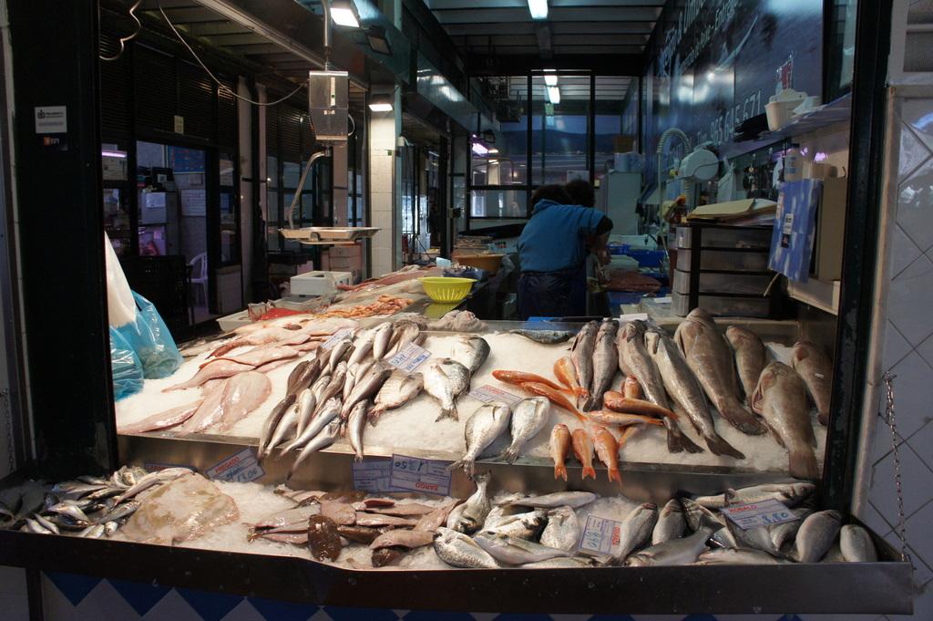 リスボンの魚市場!_c0180686_1846169.jpg