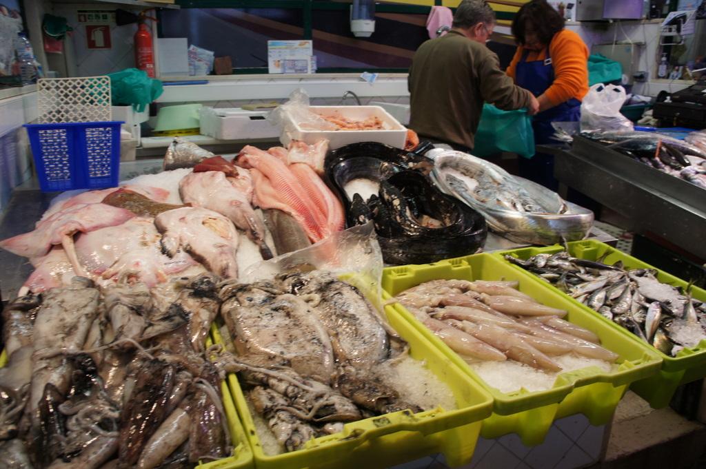 リスボンの魚市場!_c0180686_18484045.jpg