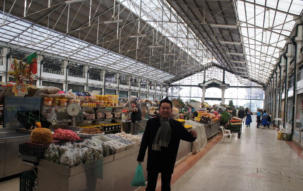 リスボンの魚市場!_c0180686_1854728.jpg