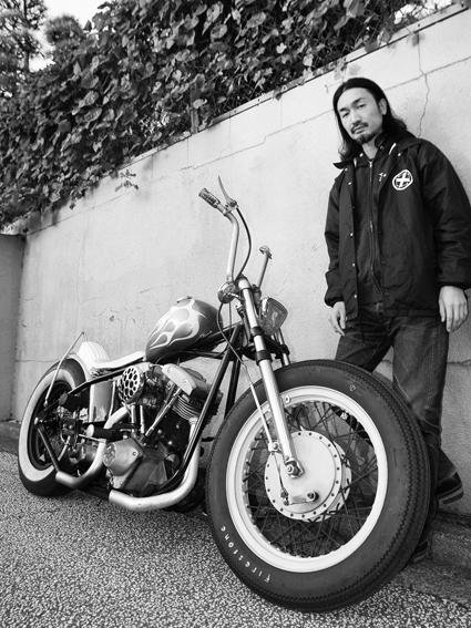 真道 裕司 & Harley-Davidson FX(2011 1210)_f0203027_198999.jpg