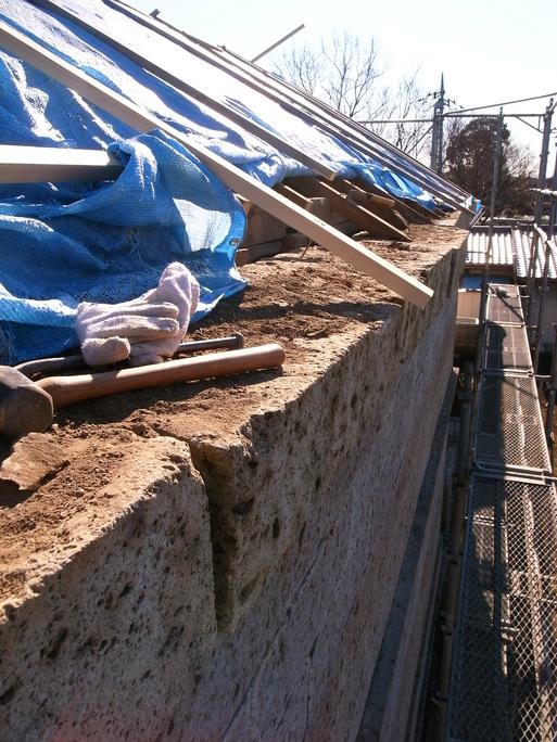 Sさんの家(2010) OM1年点検+石倉補修工事スタート 2012/1/12_a0039934_17291198.jpg