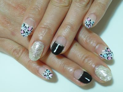 Colorful Leopard Nail_a0239065_19501321.jpg