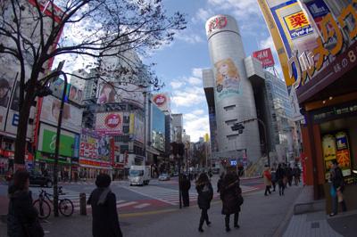 1月12日(木)今日の渋谷109前交差点_b0056983_14522312.jpg