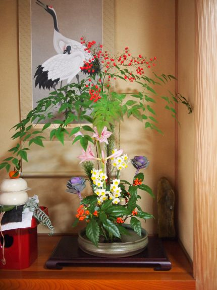 育てられたお花で_a0157409_948198.jpg
