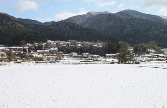 大原の里 雪景色_e0048413_21125982.jpg