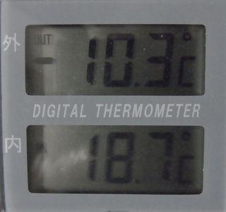 我が家は、この冬の最低気温かも_c0025115_19143695.jpg
