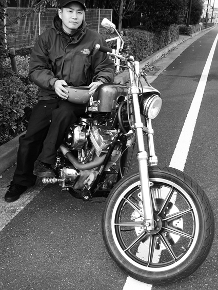 迫尾 充芳 & Harley-Davidson FXSTC(2011 1127)_f0203027_16575176.jpg
