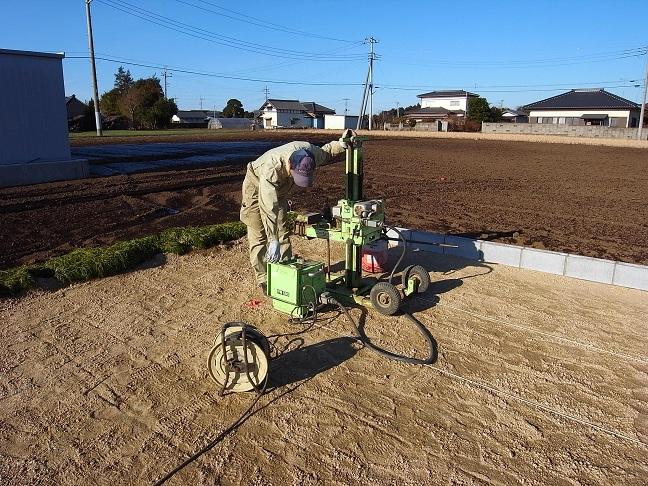三反田の家 地盤調査 2012/1/10_a0039934_1722849.jpg