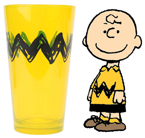 Charlie Brown Pint Glasses_a0118453_19344161.jpg