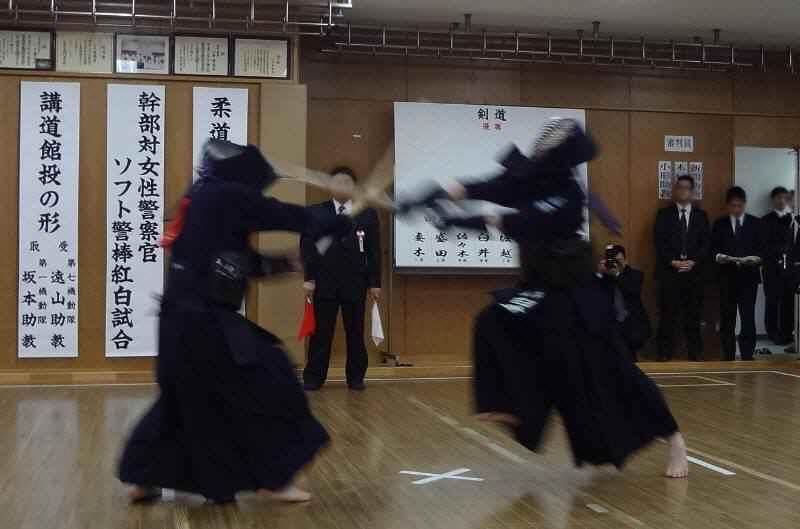 小平警察署武道始式 : 佐野いく...
