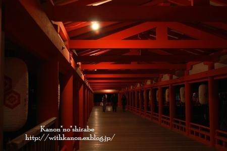夜の宮島厳島神社@広島_d0148187_027535.jpg