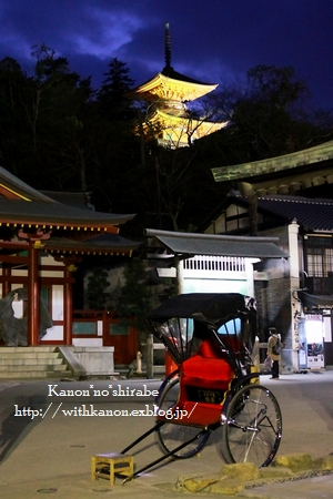 夜の宮島厳島神社@広島_d0148187_0295234.jpg