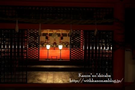 夜の宮島厳島神社@広島_d0148187_036394.jpg