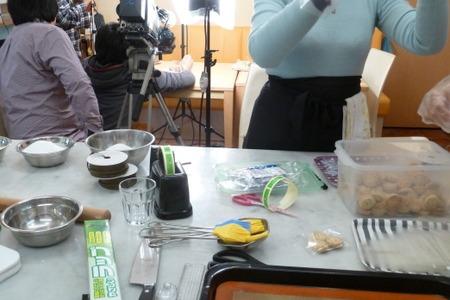 スイーツマラソン菓子作り & テレビ取材!_f0141419_5532293.jpg