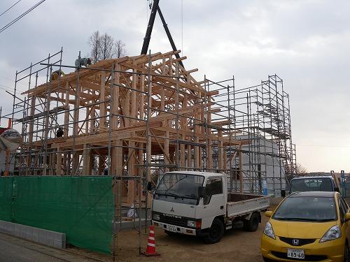 「筑後の家」 上棟_b0161750_2224783.jpg