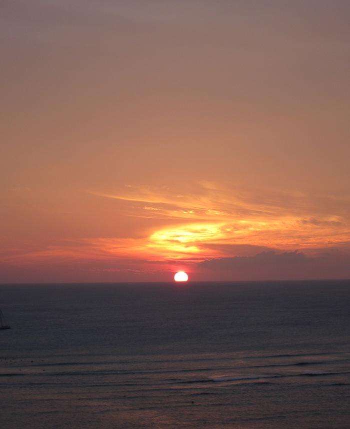 2011冬旅☆ハワイ ~2日目 ラナイからの夕日~_e0232054_20304951.jpg