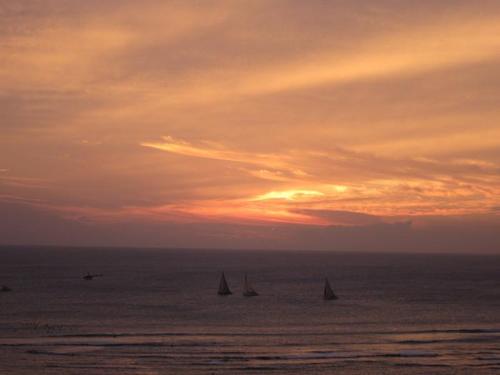 2011冬旅☆ハワイ ~2日目 ラナイからの夕日~_e0232054_2037382.jpg