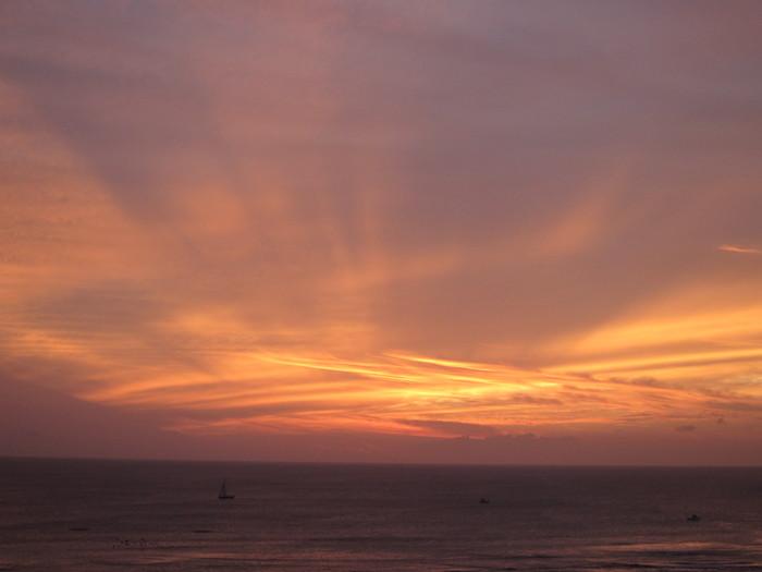 2011冬旅☆ハワイ ~2日目 ラナイからの夕日~_e0232054_20502682.jpg