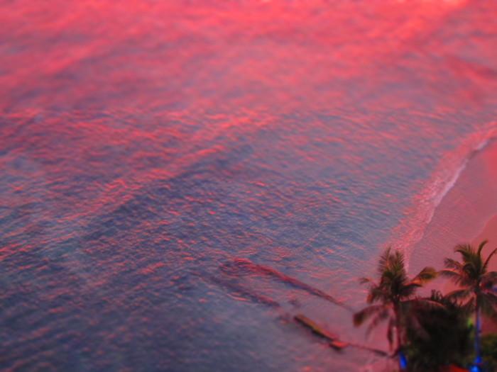 2011冬旅☆ハワイ ~2日目 ラナイからの夕日~_e0232054_20563681.jpg