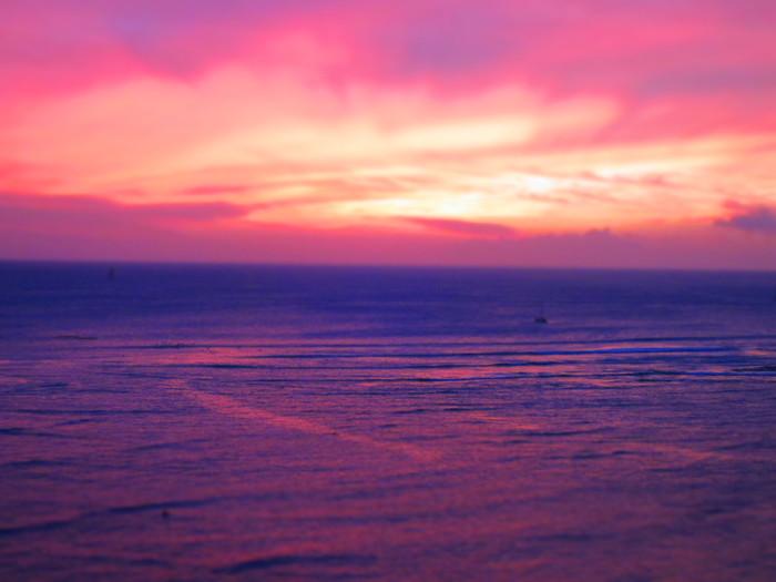 2011冬旅☆ハワイ ~2日目 ラナイからの夕日~_e0232054_20591443.jpg